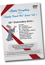 6D Embroidery Extra