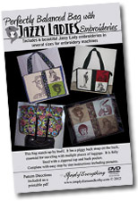 Perfectly Balanced Bag with Jazzy Ladies Embroideries